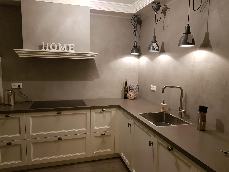 Hoek keuken Langendijk Interieurbouw