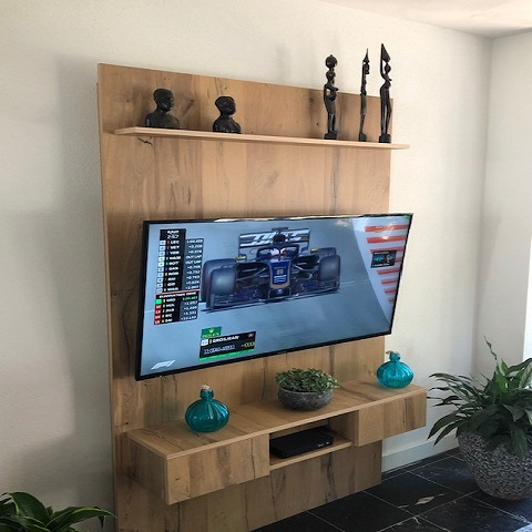 Langendijk interieurbouw Tv Achterwand